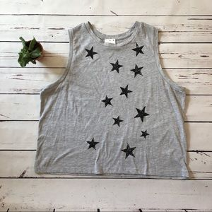 {Fifth Sun} Graphic Crop Top